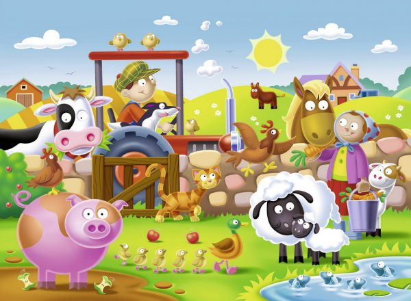 Farmyard Friends 16 PC Jigsaw Puzzle