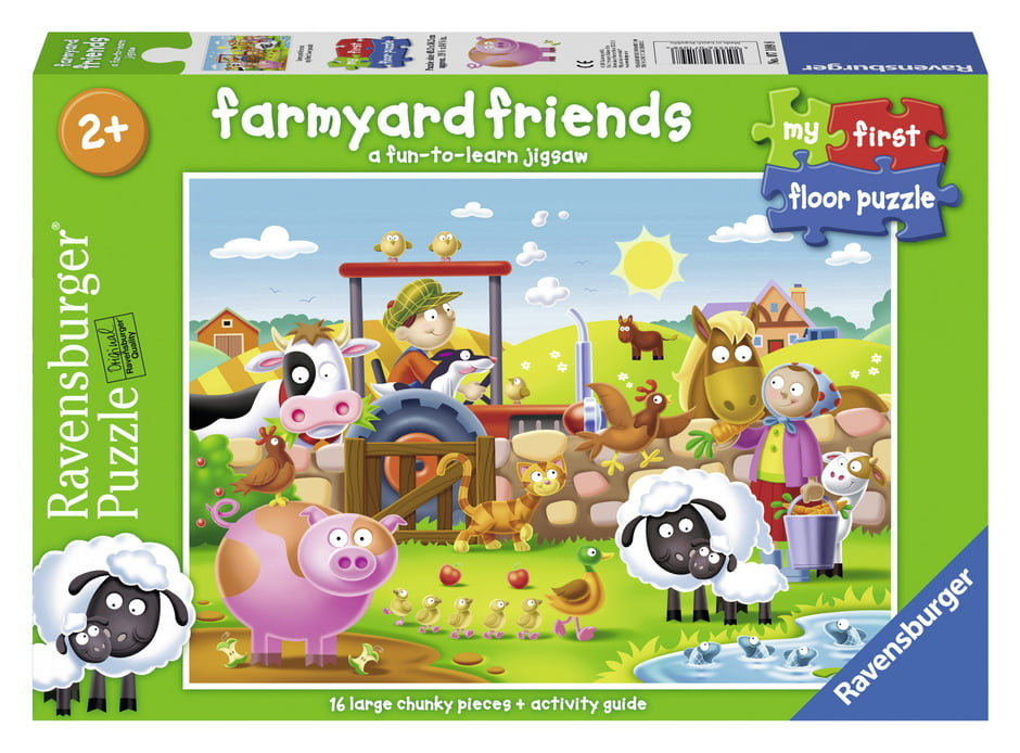 Farmyard Friends 16 Piece Jigsaw Puzzle