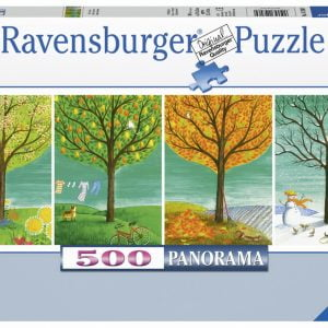 Four Seasons 500 PC Jigsaw Puzzle