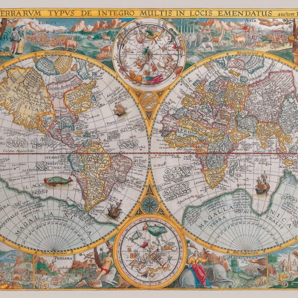 Historical map 1500 piece ravensburger jigsaw puzzle historical map puzzle 1500 pc jigsaw puzzle gumiabroncs Image collections