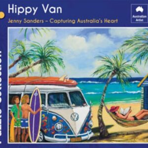 Jenny Sanders - Hippy Van 1000 Piece Puzzle - Blue Opal