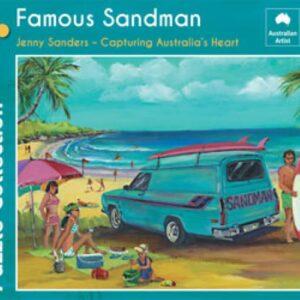 Jenny Sanders - The Famous Sandman 1000 Piece Puzzle - Blue Opal