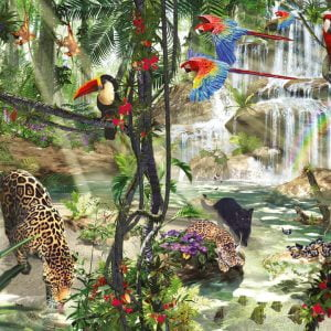 Jungle Impressions 2000 PC Jigsaw Puzzle