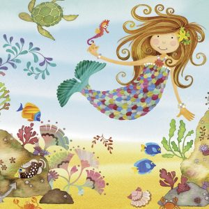 Junior Mermaid Super Size 24 PC Jigsaw Puzzle