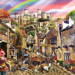 Medieval Village 1000 PC Jigsaw Puzzle