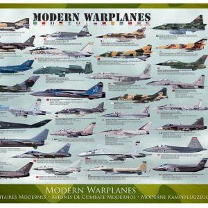 Modern War Planes 1000 PC Jigsaw Puzzle