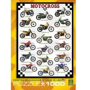 Motocross 1000 PC Jigsaw Puzzle