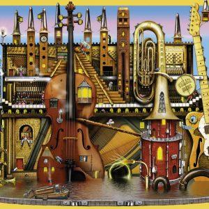Music Castle 100 PC Jigsaw Puzzle