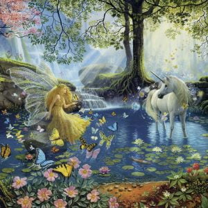 Mystical Meeting 300 PC Jigsaw Puzzle