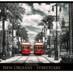 New Orleans Streetcars 1000 PC Jigsaw Puzzle