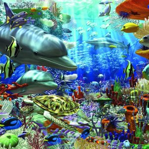 Oceanic Wonders 1500 PC Jigsaw Puzzle