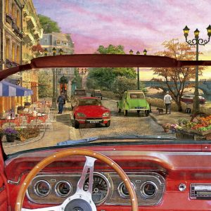 Paris in a Car 1500 PC Jigsaw Puzzle