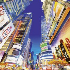 Radiant Times Square NY 500 PC Jigsaw Puzzle