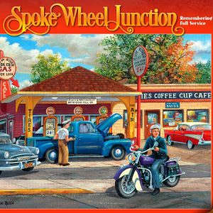 Remembering Full Service 1000 PC Jigsaw Puzzle