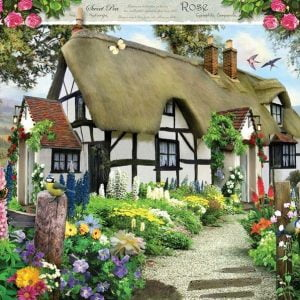 Rose Cottage 1000 PC Jigsaw Puzzle
