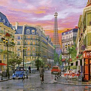 Rue Paris 5000 PC Jigsaw Puzzle