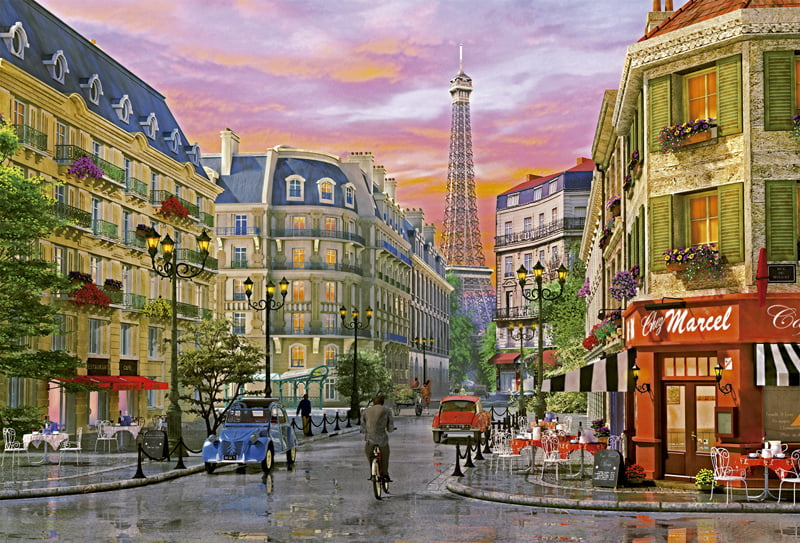 rue paris piece educa jigsaw puzzle