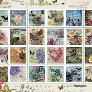 Stamp Collection 1000 PC Jigsaw Puzzle