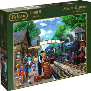 Steam Express 1000 PC Jigsaw Puzzle