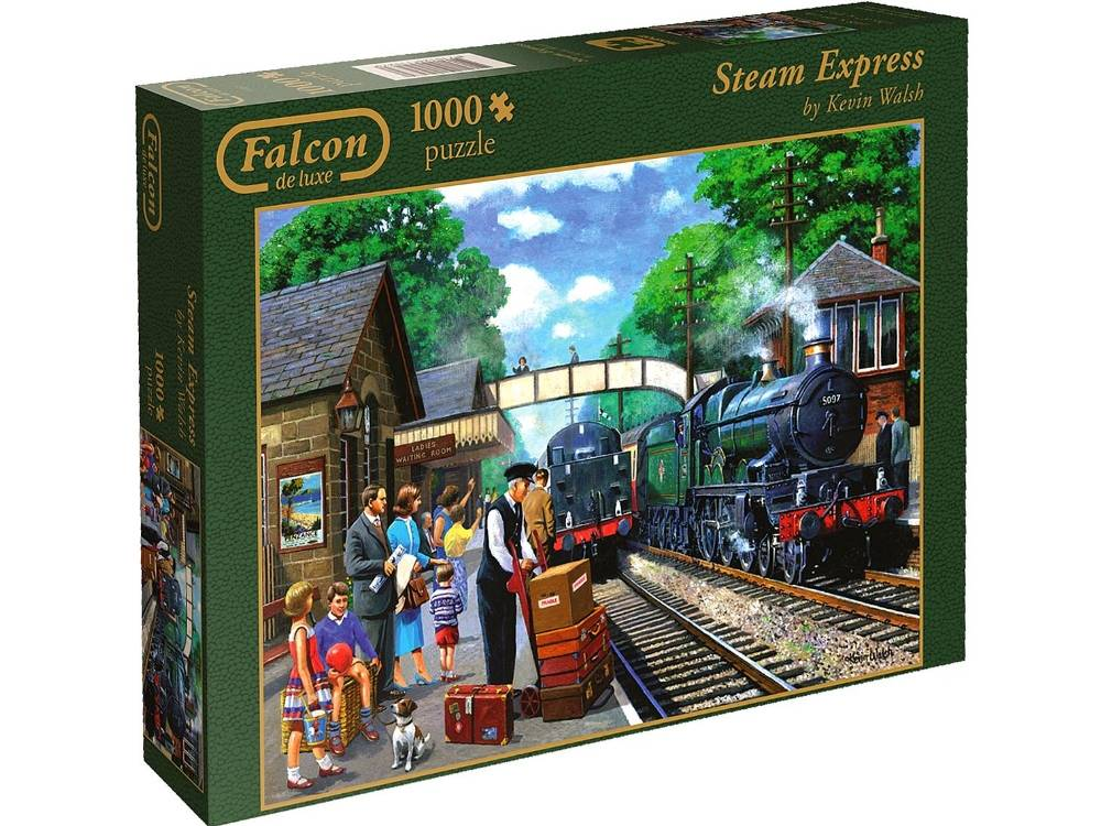 steam express 1000 pc jigsaw puzzle puzzle palace. Black Bedroom Furniture Sets. Home Design Ideas