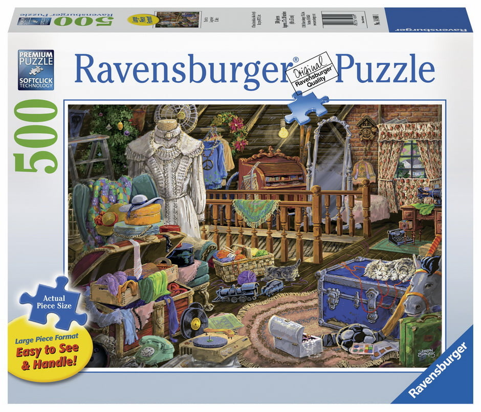 The Attic Large Format 500 PC Jigsaw Puzzle