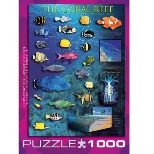 The Coral Reef 1000 PC Jigsaw Puzzle