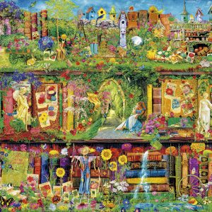 The Garden Shelf 1500 PC Jigsaw Puzzle