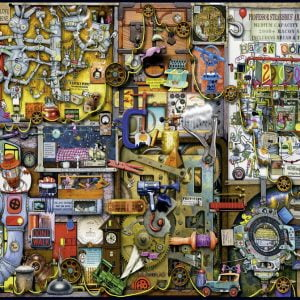 The Inventors Cupboard 1000 PC Jigsaw Puzzle