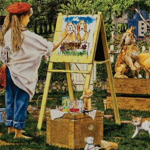 The Little Artist 1000 PC Jigsaw Puzzle