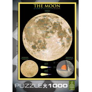 The Moon 1000 PC Jigsaw Puzzle