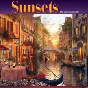 The Venetian Sunset 1000 PC Jigsaw Puzzle