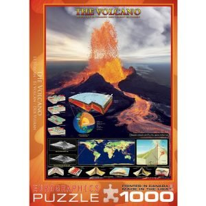 The Volcano 1000 PC Jigsaw Puzzle
