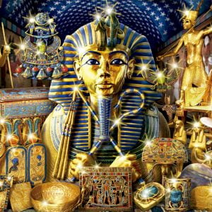 Treasures of Egypt 1000 PC Jigsaw Puzzle