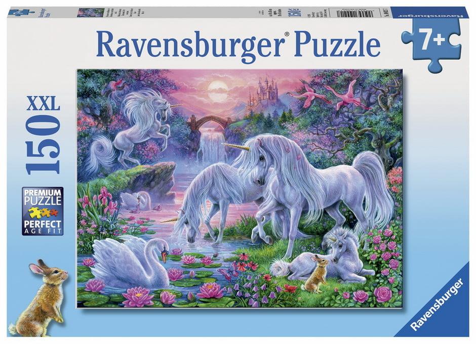 Unicorns at Sunset 150 PC Ravensburger Jigsaw Puzzle