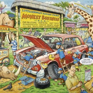 What If No 13 Safari Park 1000 PC Jigsaw Puzzle