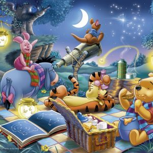 Winnie the Pooh 1000 PC Jigsaw Puzzle