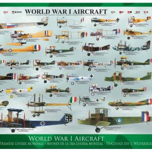 World War I Aircraft 1000 PC Jigsaw Puzzle