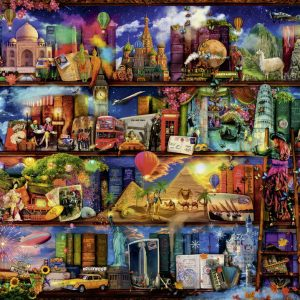 World of Books 2000 PC Jigsaw Puzzle