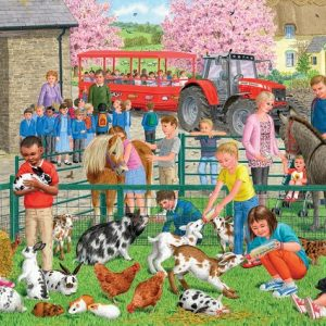 A Day at the Farm 1000 PC Jigsaw Puzzle