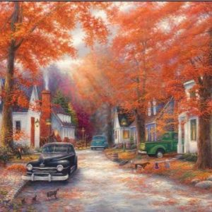 A Moment on Memory Lane 1000 PC Jigsaw Puzzle