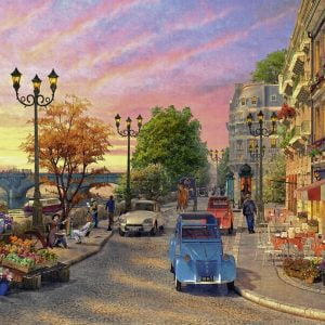 A Paris Evening 500 PC Jigsaw Puzzle