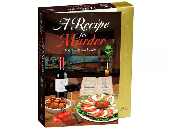 A Recipe for Murder 1000 PC Jigsaw Puzzle