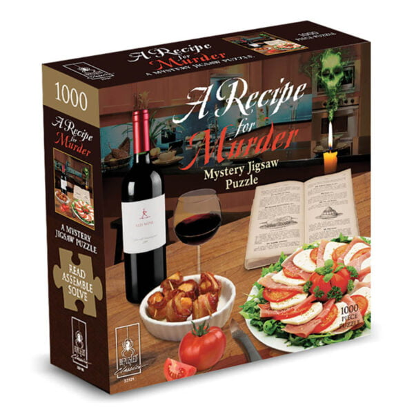 A Recipe for Murder 1000 Piece Jigsaw Puzzle - Bepuzzled