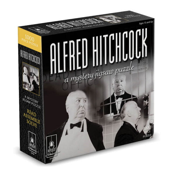 Alfred Hitchcock Myster 1000 Piece Jigsaw Puzzle - Bepuzzled