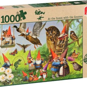 At the Forest with the Gnomes 1000 PC Jigsaw Puzzle
