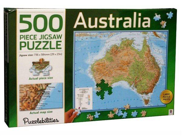 Jigsaw puzzle australia 500 pc puzzle palace aust australia 500 pc jigsaw puzzle gumiabroncs Images