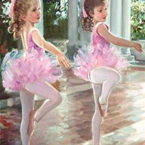 Ballerinas 500 PC Jigsaw Puzzle
