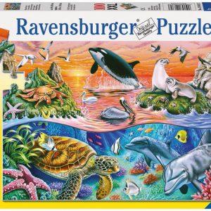 Beautiful Ocean 100 PC Jigsaw Puzzle