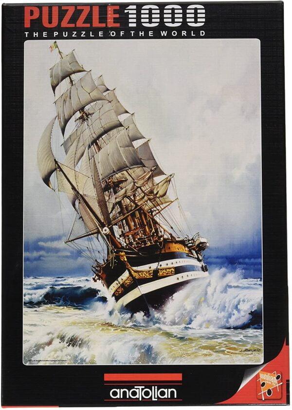 Black Pearl 1000 Piece Puzzle - Anatolian