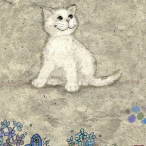 Cats White Kitty 500 PC Jigsaw Puzzle
